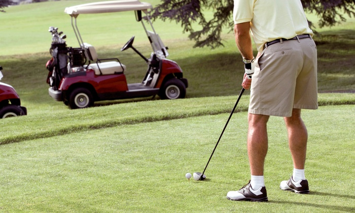 Oak Harbor Golf Club - Oak Harbor: 18-Hole Round of Golf for Two or Four Including Cart and Range Balls at Oak Harbor Golf Club (Up to 54% Off)