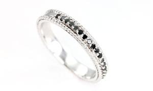 Braided Half Eternity Rings