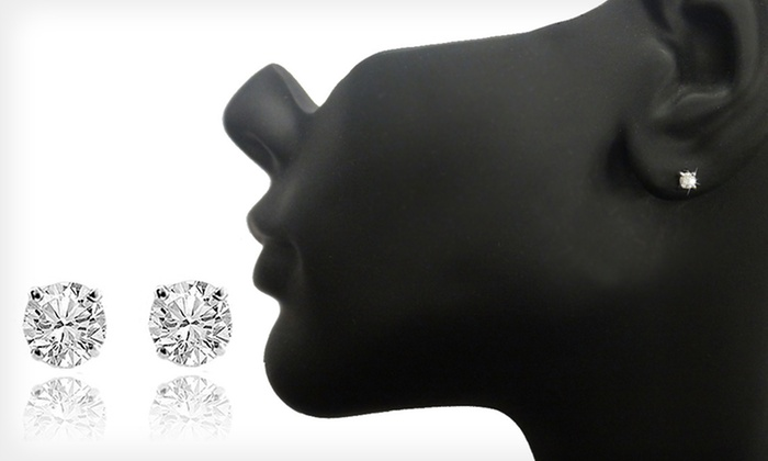 74 99 For 1 4 Carat Diamond Stud Earrings