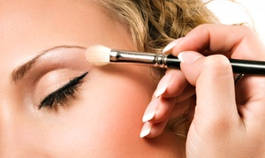 The Blow Out Bar: Airbrush or Traditional Makeup at The Blow Out Bar (50% Off)