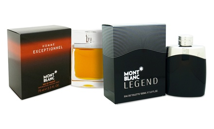 Montblanc Homme Exceptionnel (2.5 Fl. Oz.) or Legend (3.3 Fl. Oz.) Eau de Toilette for Men; from $34.99–$49.99