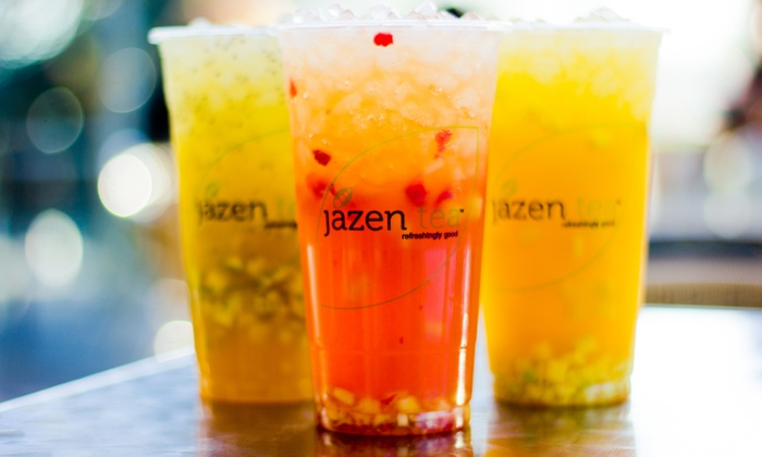 Jazen Tea - Vancouver: $11.25 for Five Groupons, Each Good for One Tea or Smoothie at Jazen Tea (Up to a $22.50 Total Value)