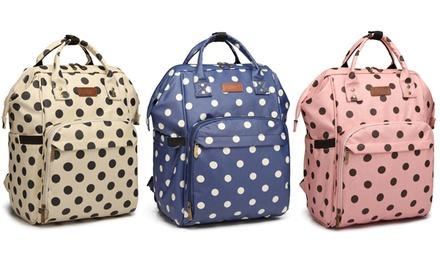 Polka Dot Functional Backpack