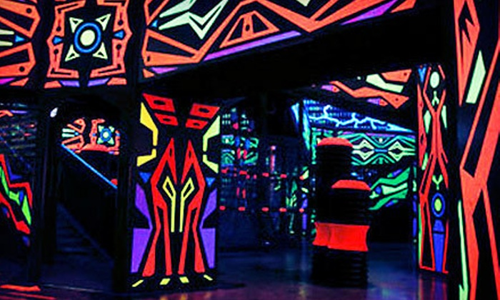 Laserdome - Manheim: Two Laser-Tag Sessions Each for Two or Four at Laserdome (Up to 56% Off)