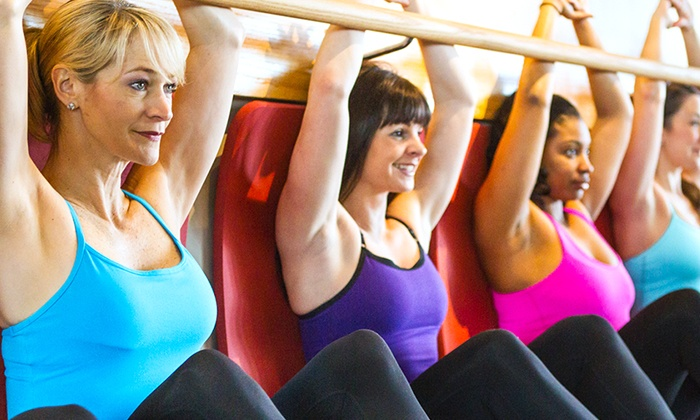 Pure Barre - Harris Hill: $78 for Four Weeks of Unlimited Classes at Pure Barre ($165 Value)
