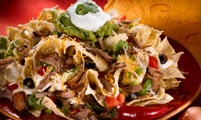 Nacho's - Far West: Mexican Food at Nacho's (Up to 53% Off). Two Options Available.