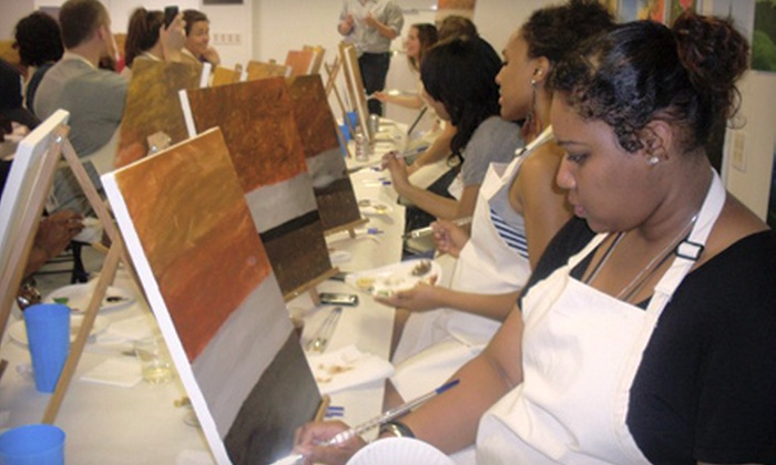Brush N Blush - Georgetown: $25 for a Two-Hour BYOB Painting Class at Brush N Blush ($50 Value)