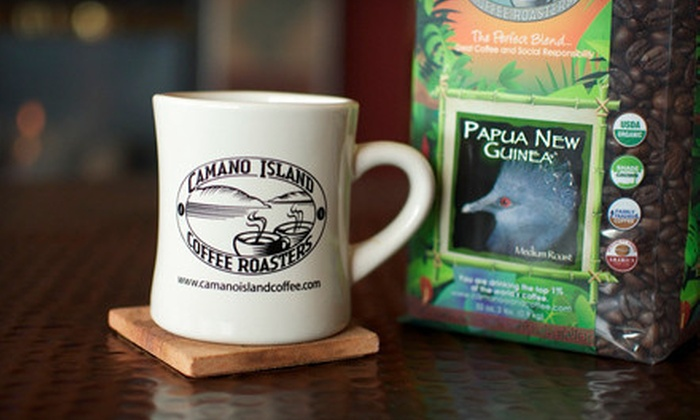 Camano Island Coffee Roasters: $24 for 4 lb. of Camano Island Coffee and Free Enrollment to the Coffee Lover's Club ($52 Value)