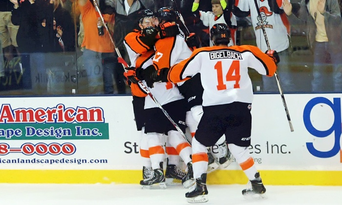 Omaha Lancers vs. Sioux City Musketeers - Ralston Arena: Two Tickets to Omaha Lancers Home Hockey Game at Ralston Arena on October 17 (Up to Half Off)