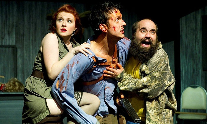 """Evil Dead The Musical 4D"" - V Theater: ""Evil Dead The Musical 4D"" for One or Two at the V Theater (Up to 57% Off)"
