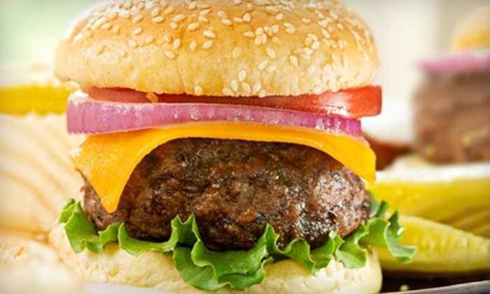 Big Nick's Burger Joint & Pizza Joint - Big Nick's Pizza Joint: Burger Meal for Two or Four with Sides and a Shake at Big Nick's Burger Joint & Pizza Joint (Up to 59% Off)