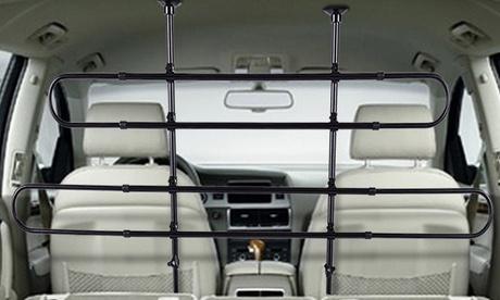 Barrera protectora universal y ajustable para vehículos