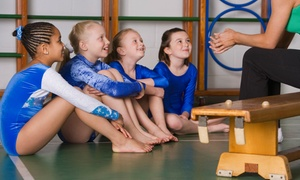Rhythmic Art: Kids' Winter Gymnastics Camp or One Month of Gymnastics Classes at Rhythmic Art (Up to 51% Off)