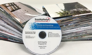 "ScanMyPhotos.com: $29.99 for Photo-to-DVD Scanning for up to 1,000 4""x6"" Photos from ScanMyPhotos.com ($179.95 Value)"
