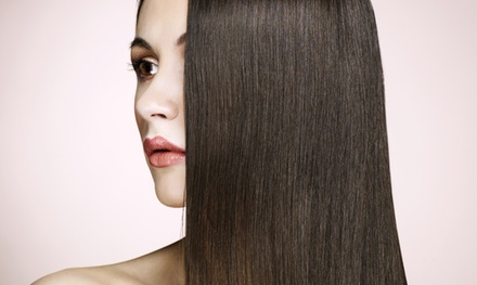 $99 for a Keratin Smoothing Treatment at Tharie at Tress ($300 Value)