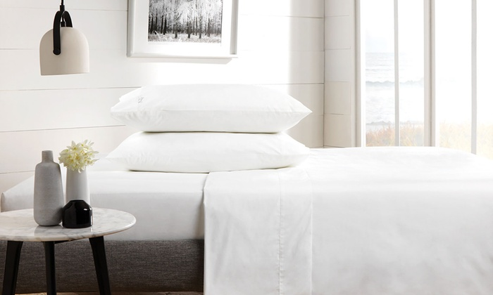 Pieridae 200TC Egyptian Cotton Flat Sheets from £6