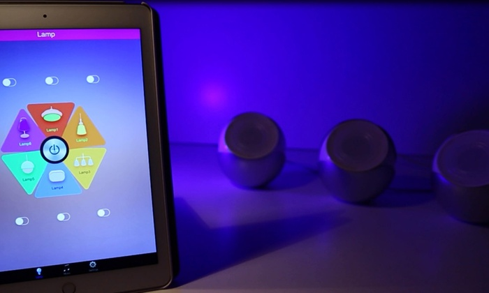 O Daddy Lampen : Lampe d ambiance led o daddy bluetooth groupon