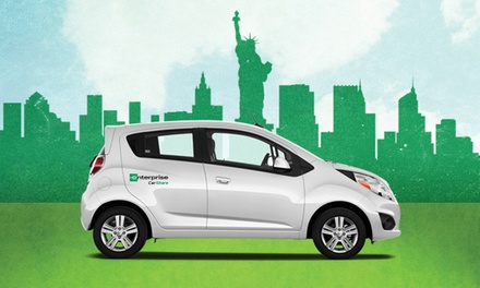 $20 for a Pay as You Go Membership & $30 of Driving Credit from Enterprise CarShare ($55 Value)
