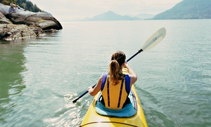 Sunrise Paddleboards: Two-Hour Kayak Rental for One or Two, or Kayak Tour for One from Sunrise Paddleboards (Up to 61% Off)