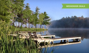 Black Bear Lodge: Stay at Black Bear Lodge in Wisconsin's Northwoods, with Dates into June