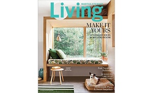 Martha Stewart Living Subscription For Six Months Or One Year (Up To 80%  Off)