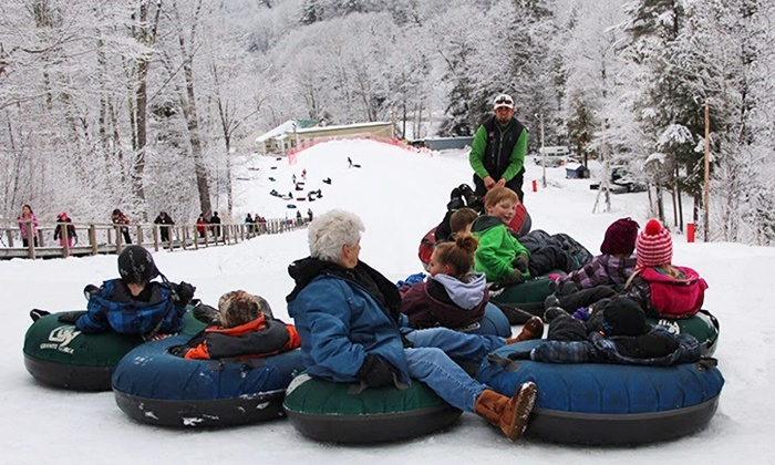 Granite Gorge - Keene/Roxbury: Snow Tubing Day Pass for One or Two at Granite Gorge
