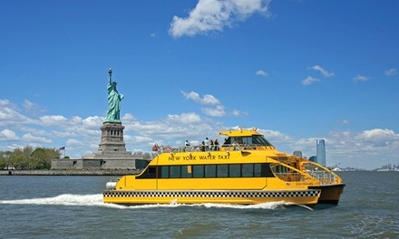 $16 for One Boat Tour from New York Water Taxi and Circle Line Downtown         (Up to $30 Value)