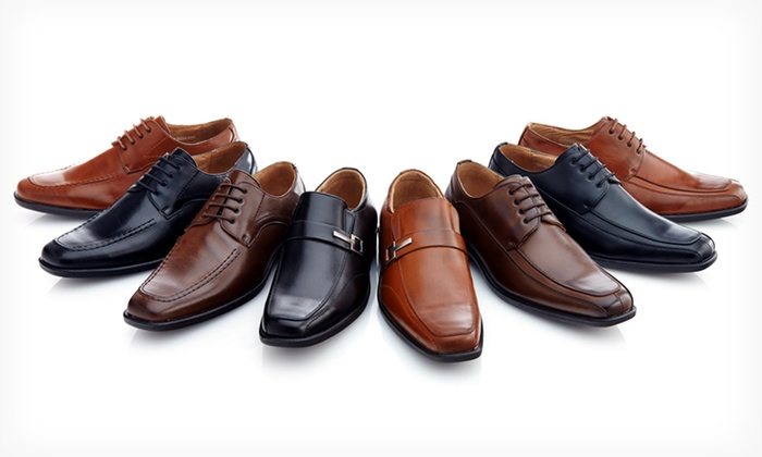 Franco Vanucci Men's Dress Shoes: $37.99 for Franco Vanucci Men's Dress Shoes ($100 List Price). Multiple Styles Available. Free Shipping and Returns.
