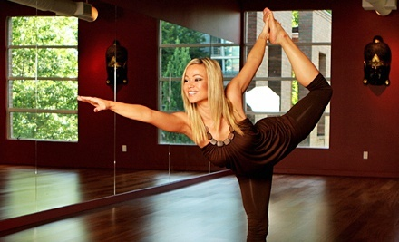 10 Sessions or One Month of Unlimited Yoga, Pilates, and Dance Classes at Exhale Studio (67% Off)