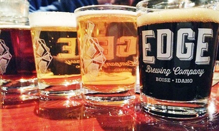 Brewpub Visit with Beers, Appetizers, and Pint Glasses for Two or Four at Edge Brewing Company (Up to 50% Off)