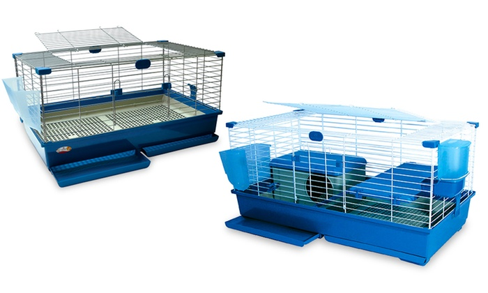 Deluxe rabbit and guinea pig cages groupon for Discount guinea pig supplies