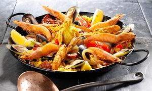 El Tio Restaurant: Menu gastronomique de spécialité espagnole en 3 services pour 2 personnes à 49,90 € au restaurant El Tio