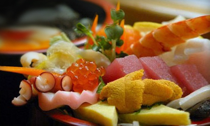 Asian fusion cuisine rice sushi groupon for 50 fifty asian fusion cuisine