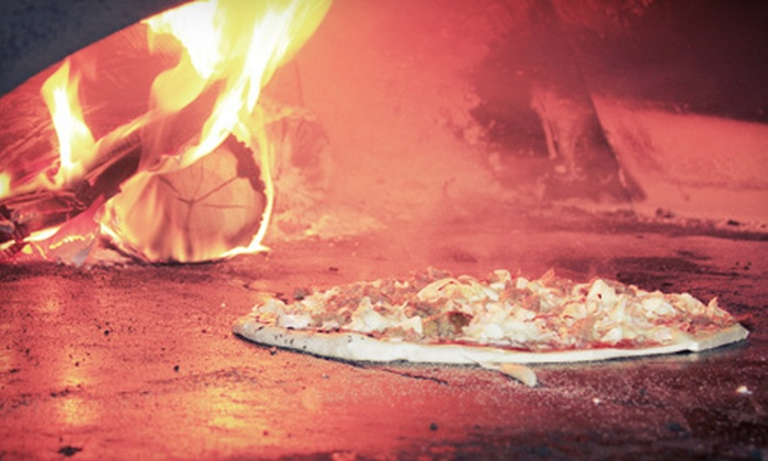 Parmesans Wood Stone Pizza - Parmesans Wood Stone Pizza: Italian Cuisine for Dine-In or Catering from Parmesans Wood Stone Pizza in Frankfort (Half Off)