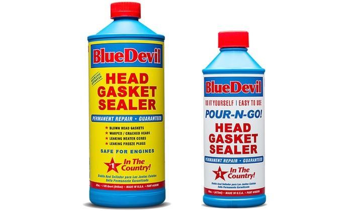 BlueDevil Head Gasket Sealer (16oz  or 32oz )   Groupon