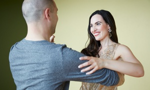 Dance Tonight Ann Arbor: 10 Ballroom Dance Classes with One Private Lesson for One or Two at Dance Tonight Ann Arbor (Up to 83% Off)