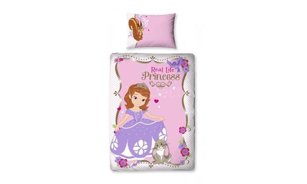 Parures de lit licence enfants groupon - Housse de couette princesse sofia ...