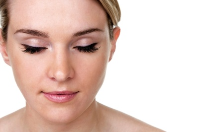 Semi-Permanent Mascara or Eyelash Extensions from Roni Mallis at Euphoria Beauty Lounge (Up to 66% Off)