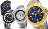 August Steiner Men's Swiss Tachymeter Watch: August Steiner Men's Swiss Tachymeter Watch