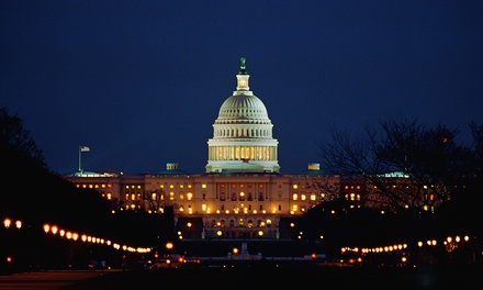 Three-Hour Motorcoach Tour of DC for Two or Four from First Priority Tours (Up to 52% Off)
