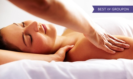 55- or 80-Minute Therapeutic Massage at Elements Massage Round Rock (Up to 51% Off)