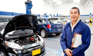 M60 AUTOS: 50-Point Car Service With Oil Change (£29) Plus £10 Voucher Towards Tyre (£34) at M60 Autos (Up to 71% Off)