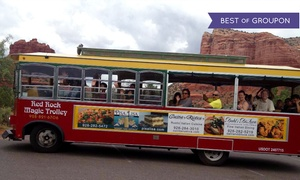 Red Rock Magic Trolley: Trolley Tour of Chapel of the Holy Cross or Boynton Canyon from Red Rock Magic Trolley (Up to 48% Off)