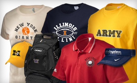 Fan Apparel from Prep Sportswear (Up to 53% Off). Three Options Available.