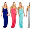 Women's Racerback Maxi Dress (3-Pack)