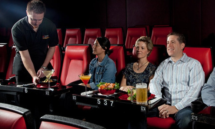 Star Cinema Grill - Multiple Locations: $5 for a Movie for One with a Large Popcorn at Star Cinema Grill (Up to $14.29 Value)