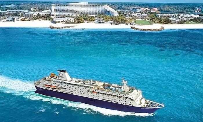 Bahamas Cruise For Two Bahamas Paradise Cruise Line Groupon - Bahamas celebration cruise ship