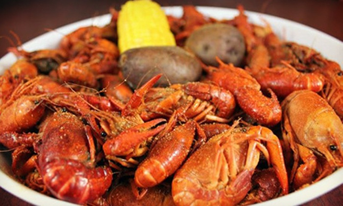 Jubilee Joe's - Multiple Locations: Three Pounds of Crawfish or One Entry to the Crawfish Boil on Saturday, May 18 from Jubilee Joe's (Up to 47% Off)