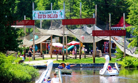 $67 for a Santa's Village Season Pass and 10 Activity Tickets at Sportsland ($124.24 Value)
