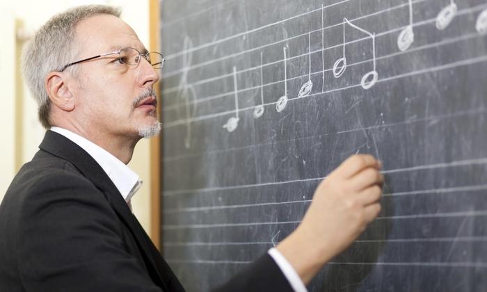 Études - Washington: Two Private Music Lessons from Études (44% Off)